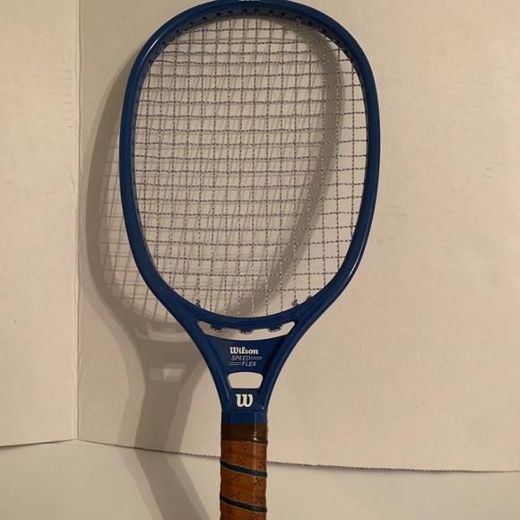 Vintage Wilson Racquetball Racquet Blue Speed Flex